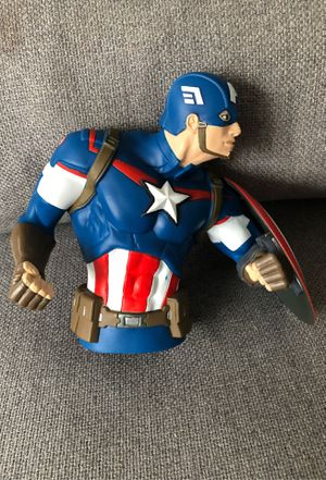 Captain America bust bank. for Sale in Caldwell, NJ
