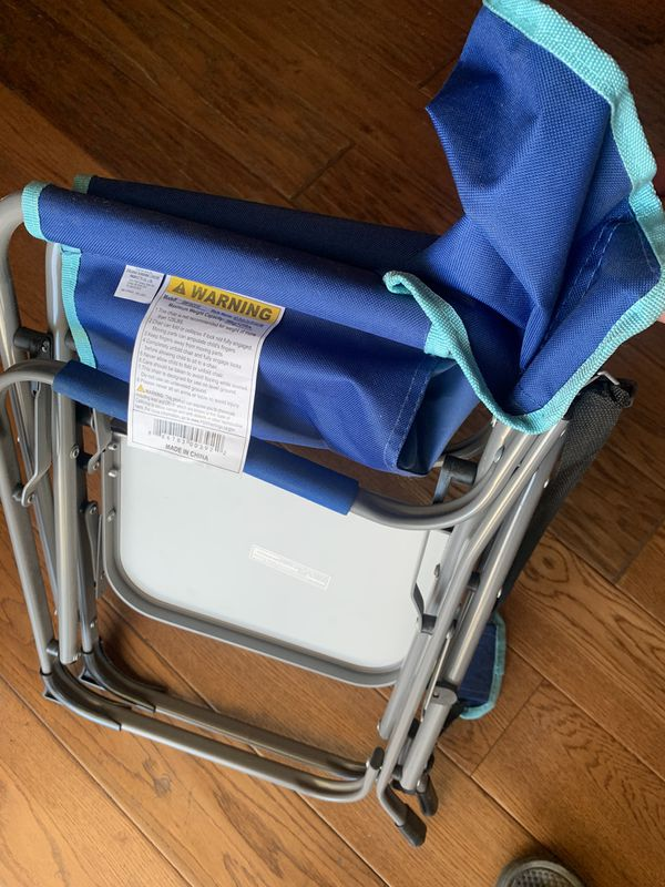 Kids folding chair with table