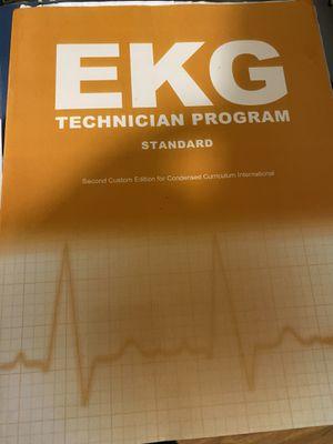 EKG tech book for Sale in Boston, MA