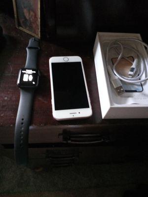 Apple iwatch n phone 7 for Sale in San Diego, CA