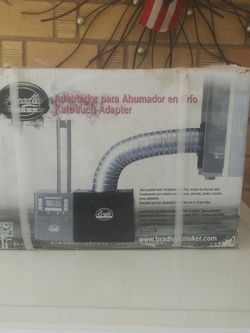 COLD SMOKER ADAPTOR, BRAND NEW NEVEROPEN THE BOX, INCLUDE ALUMINUM TUBE, BYPASS SENSOR ABLE,COLD SMOKER BOX .VERYTHING HARWARE INSIDE THE BOX for Sale in Phoenix,  AZ