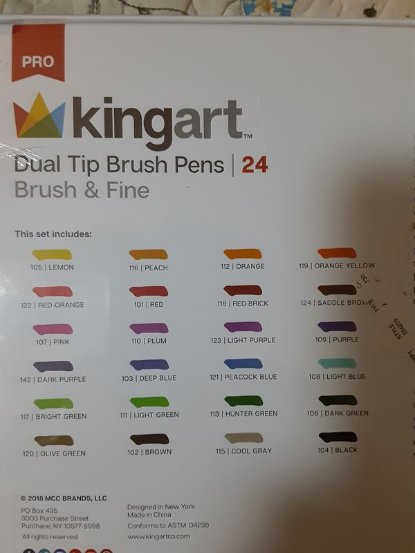 24 coloring pens new
