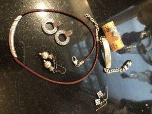 "Set of silver ""Brighton"" style jewelry. for Sale in Arlington, VA"