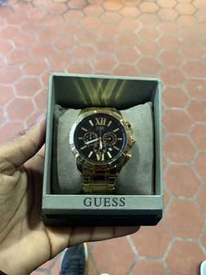 Gold/black guess watch limited edition 2018 for Sale in Washington, DC