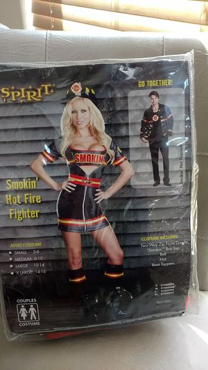 Halloween costume smoking hot firefighter small for Sale in Tolleson, AZ