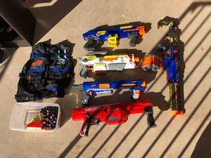 Assorted NERF guns for Sale in Scottsdale, AZ