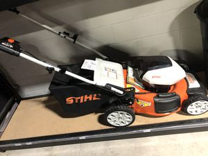 Stihl electric lawnmower for Sale in Houston, TX