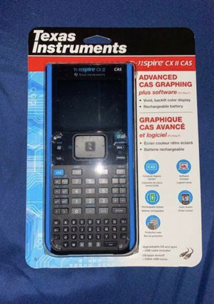 Texas Instruments TI-NSPIRE CX II CAS Graphing Calculator brand new unopened!! for Sale in Ridgefield, WA