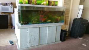Aquarium with 2 fish heater filter for Sale in Oakland, CA