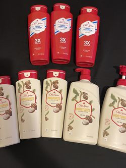 """LOT OF OLD SPICE MENS BODY WASH IN BRAND FRESH & MOISTURE"" for Sale in Brooklyn,  NY"