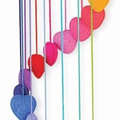 O.B. Designs Falling in Love Heart Mobile in Rainbow . for Sale in Ontario, CA