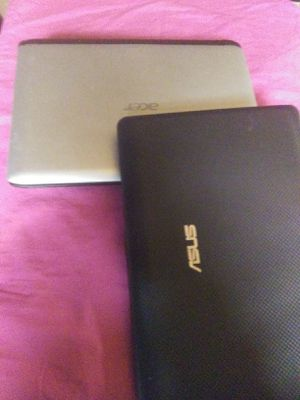 2 notebooks laptops. Both need OS both for 100 obo for Sale in Lakewood, CO