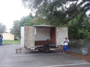 Home made trailer 1000 or best offer willing to trade for running car for Sale in Tampa, FL