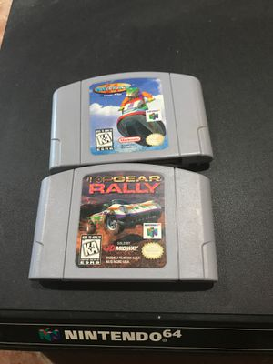 N64 games for Sale in West Springfield, VA