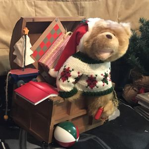 Teddy Bear Toy Box (Mechanical Action) for Sale in Pittsburgh, PA