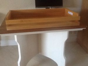 CHILD CRAFT CHANGING TABLE TOPPER - WELL MADE SOLID WOOD for Sale in Pompano Beach, FL