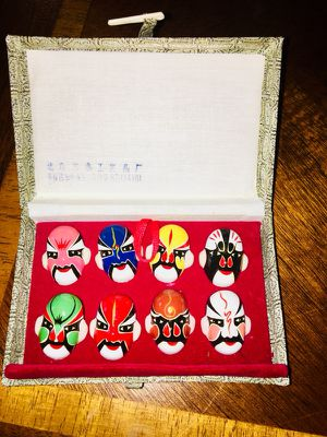 Chinese(Beijing) Miniature Opera Masks (Set of 8) for Sale in Gaithersburg, MD
