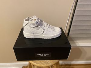Come de garçon Air Force 1 white for Sale in Severn, MD
