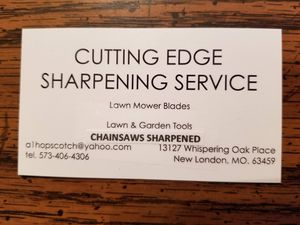 TOOL SHARPENING for Sale in New London, MO