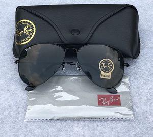 Ray ban aviators black sunglasses for Sale in Washington, DC