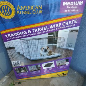 New Dog Crate for Sale in Santa Maria, CA