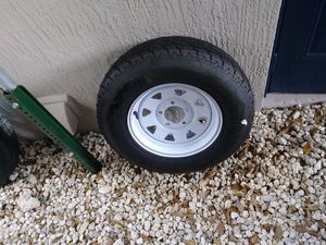 Trailer Rims and tires for Sale in Fort Lauderdale, FL