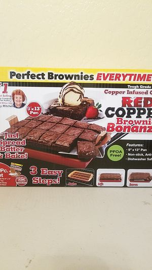 Red Copper Brownie Pan for Sale in Phoenix, AZ