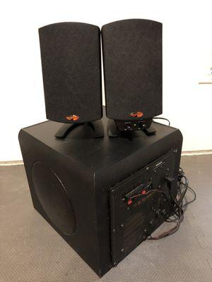 Klipsch ProMedia 2.1 THX computer speakers for Sale in Seattle, WA