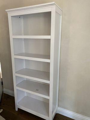 White book shelf for Sale in Monterey, CA