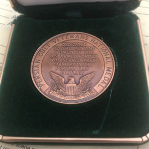 1993 Persian Gulf Veterans National Medal (bronze) for Sale in Arvada, CO