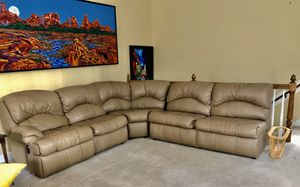 Sealy sofa recliner and pull out bed for Sale in Raleigh, NC