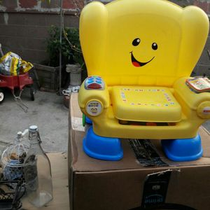 Fisher Price Learning Chair for Sale in Carson, CA