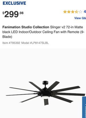 FANIMATION STUDIO COLLECTION Slinger v2 for Sale in Rossville, GA
