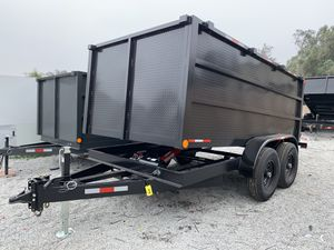 New hd dump 8x12x4 14000lb Ramos rings $7500 cash only for Sale in Santa Ana, CA