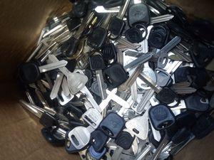 Uncut vehicle keys for Sale in Jacksonville, FL