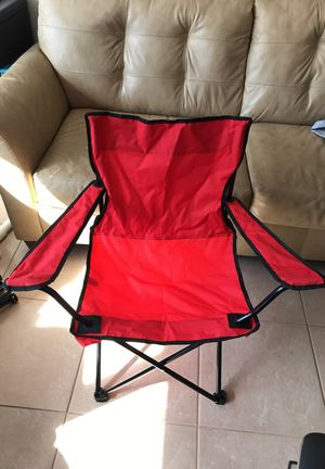 Red camping chair for Sale in Jacksonville, FL