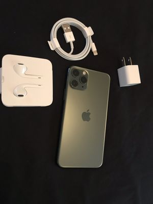 Apple iPhone 11 pro 512 GB Midnight Green Unlocked I can deliver for Sale in Fremont, CA