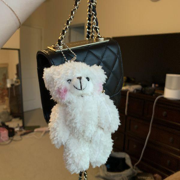 cute white teddy bear