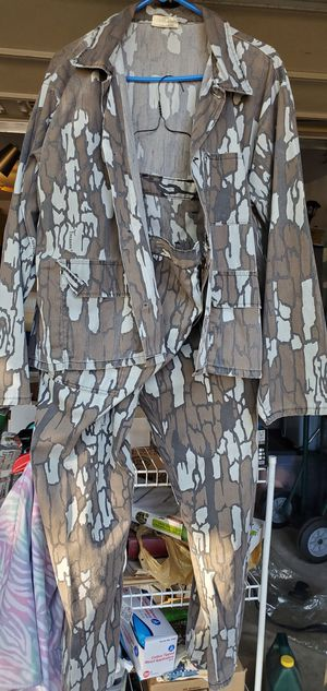 Men's L Camo Long sleeve shirt & pants by Rebark. Pants need a botton. for Sale in Justin, TX