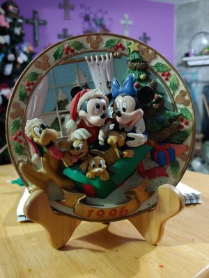 1996 Disney relief Christmas collectors plate for Sale in Nashville, TN