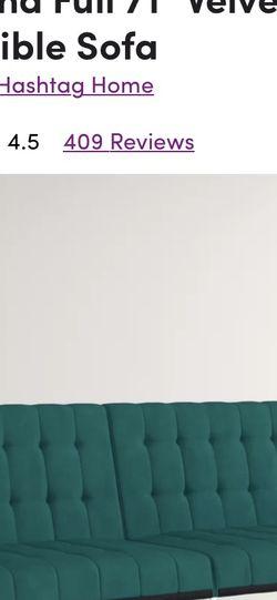 Emerald Green Futon for Sale in Taylorsville,  UT