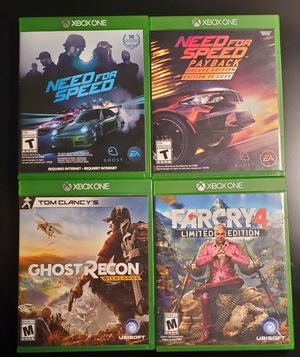 Xbox one games $20 for Sale in Virginia Beach, VA