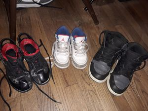 Jordan's (Nike) boys...Free for Sale in Fort Worth, TX
