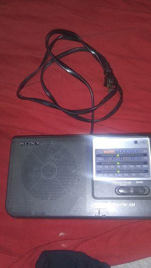 Sony ICF-36 4BAND Portable Radio for Sale in Oklahoma City, OK