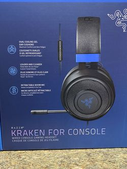 Kraken Console Gaming Headphones / Headset For PS4 And PS5 for Sale in Round Rock,  TX