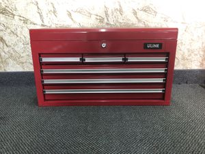 ULINE Tool box with assorted snap-on tools for Sale in Tampa, FL