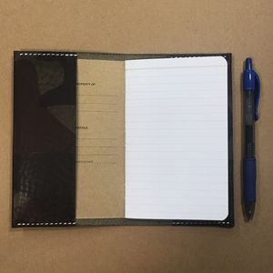 """Handmade Leather Cover for 3.5"""" x 5.5"""" Journal for Sale in Conroe, TX"""