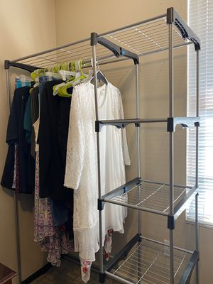 Clothing Rack/Organizer for Sale in West Valley City, UT