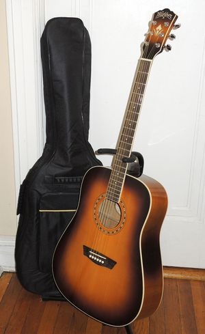 Washburn WD7S Acoustic Guitar & Gigbag for Sale in Queens, NY