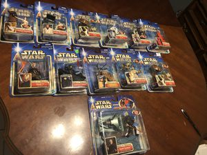 Never Opened Star Wars Episode II Action Figure Collectibles for Sale in Hialeah, FL